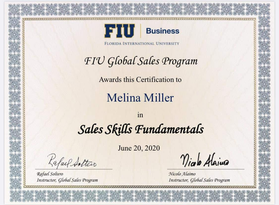 Global Sales Skills Fundamentals