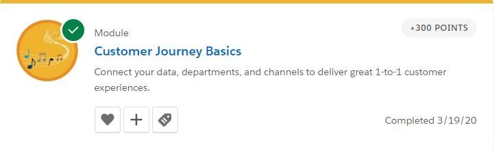 Customer Journey Basics