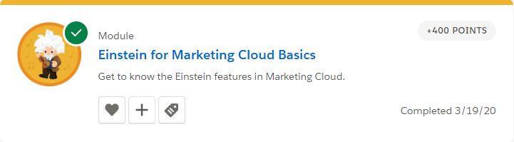Einstein for Marketing Cloud Basics