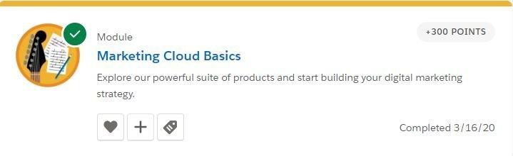 Marketing Cloud Basics
