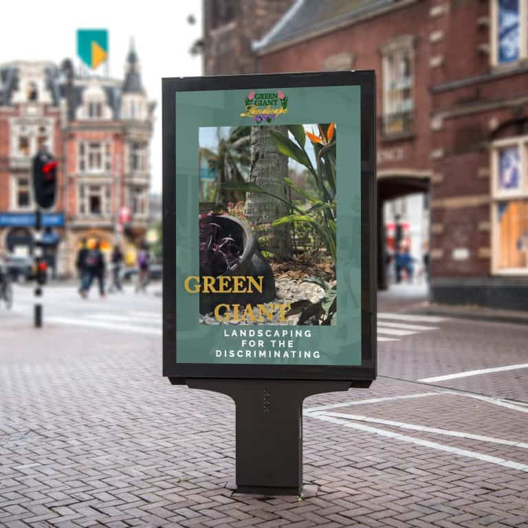 Green Giant Billboard
