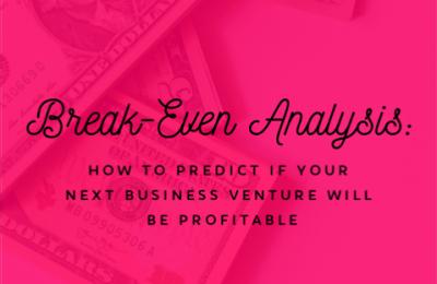 Break-Even Analysis