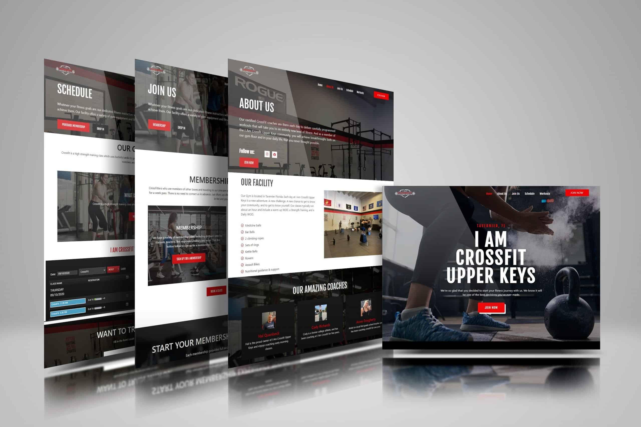 I Am Crossfit Upper Keys Website