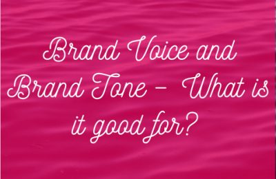 Brand Voice and tone
