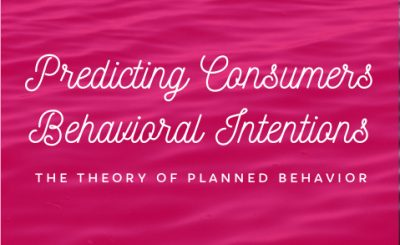 Predicting Consumers Behavioral Intentions -- The Theory of Planned Behavior