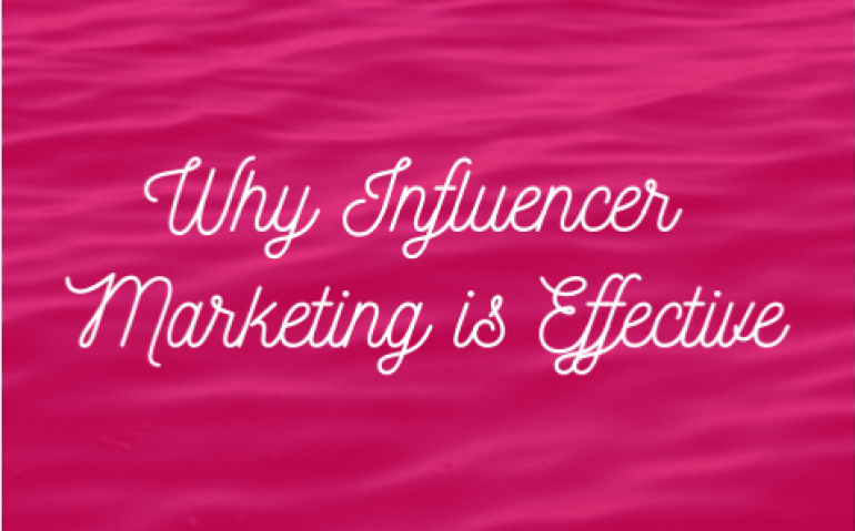 Why Influencer Marketing Is Effective