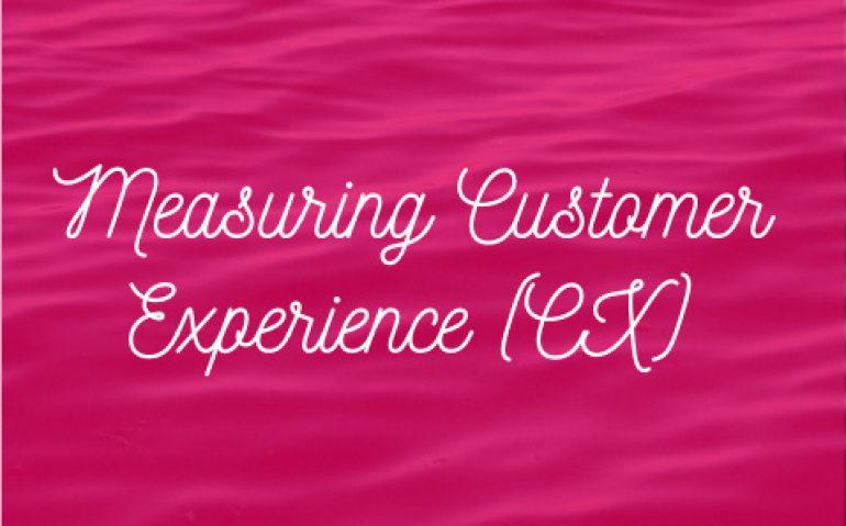 Measuring Customer Experience (CX)